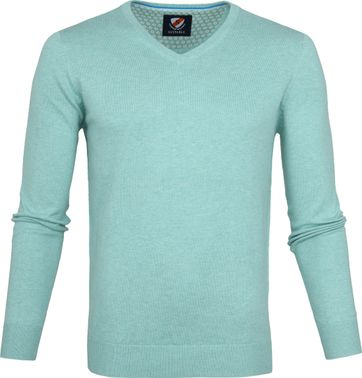 Suitable Vince Pullover Turquoise