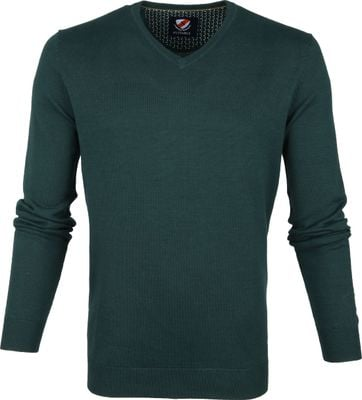 Suitable Vini Pullover Donkergroen