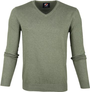 Suitable Vini Pullover Green