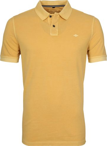 Suitable Vintage Poloshirt Yellow
