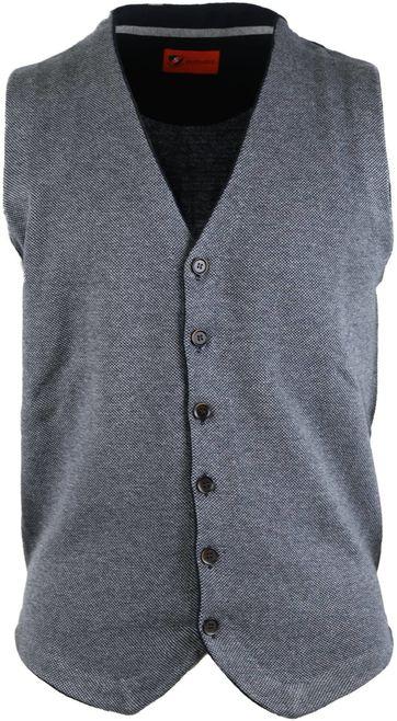 Suitable Waistcoat Dark Grey
