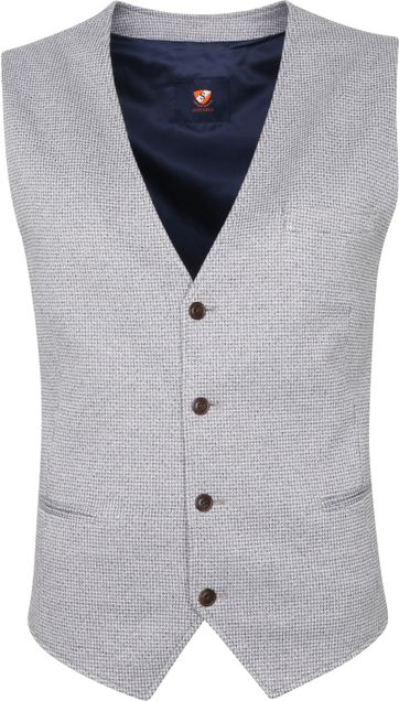 Suitable Waistcoat Glade Flex Grey