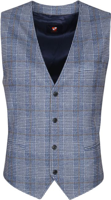 Suitable Waistcoat Glice Flex Blue