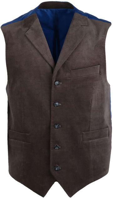 Suitable Waistcoat Mouline