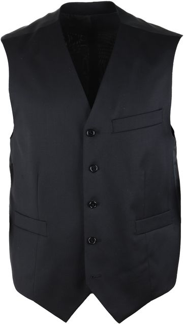 Suitable Waistcoat Piga Black