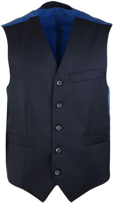 Suitable Waistcoat Piga Navy