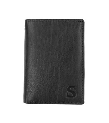 Suitable Wallet Nasdaq Black Leather - Skim Proof