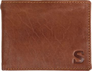 Suitable Wallet Tan Brown Leather - Skim Proof