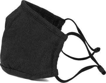 Suitable Waschbar Gesichtsmaske Einfarbig Schwarz