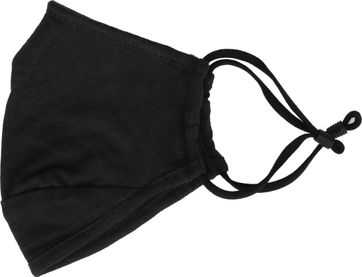Suitable Waschbare Maske Einfarbig Schwarz