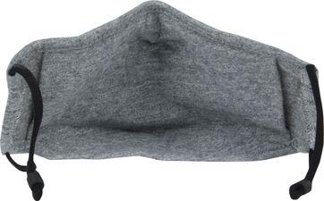 Suitable Washable Mouth Mask Melange Grey