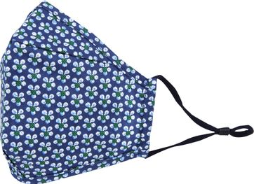 Suitable Washable Mouth Mask Print Navy