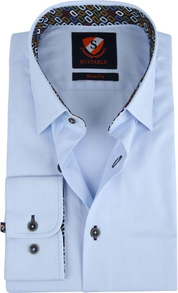 Suitable Wesley Shirt Light Blue