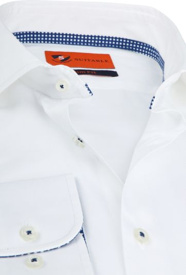 Suitable Wesley Shirt White
