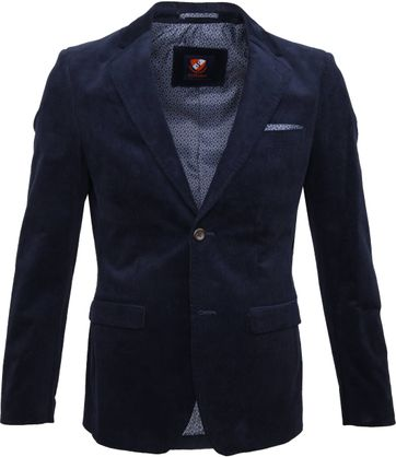 Suitable Xavi Blazer Dark Blue