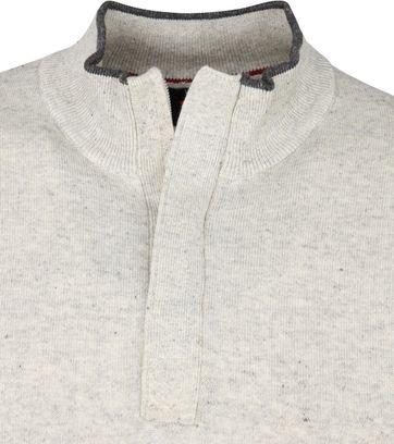 Suitable Yumm Half Zip Pullover Beige
