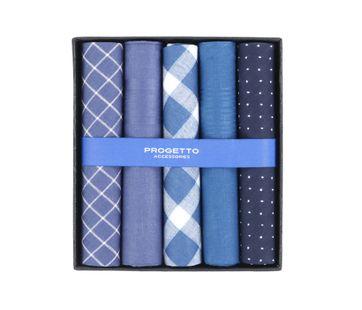 Suitable Zakdoeken Blauw