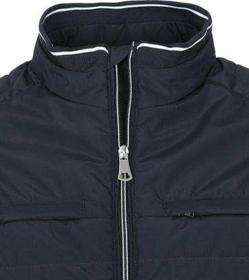 Suitable Zeno Puff Jack Donkerblauw
