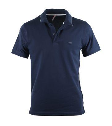 Sun68 Donkerblauw Poloshirt