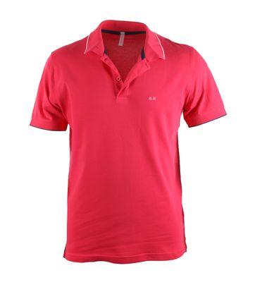 Sun68 Fuchsia Poloshirt