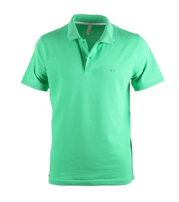 Sun68 Groen Poloshirt