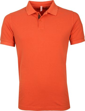 Sun68 Polo Shirt Cold Orange