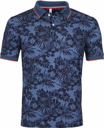 Sun68 Polo Tropical Indigo