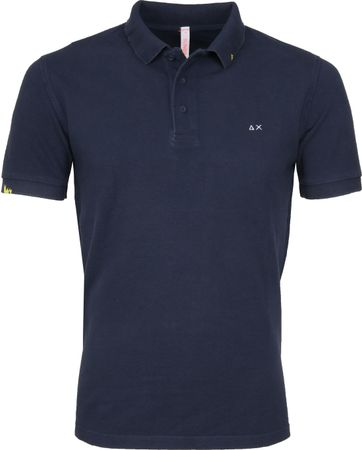 Sun68 Polo Vintage Solid Navy