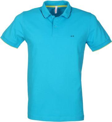 Sun68 Poloshirt Blauw