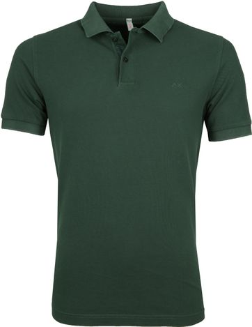 Sun68 Poloshirt Cold Dark Green