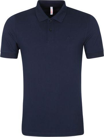 Sun68 Poloshirt Cold Dye Navy