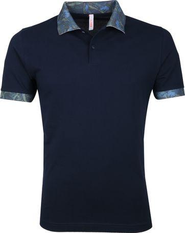 Sun68 Poloshirt Navy Dessin