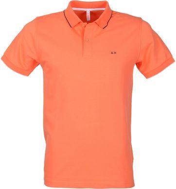 Sun68 Poloshirt Oranje