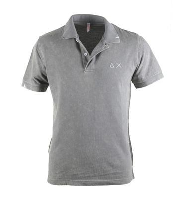 Sun68 Poloshirt Vintage Grey