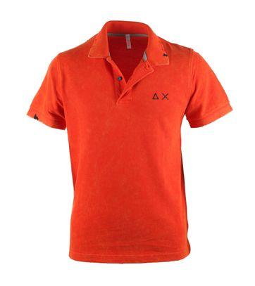 Sun68 Poloshirt Vintage Orange