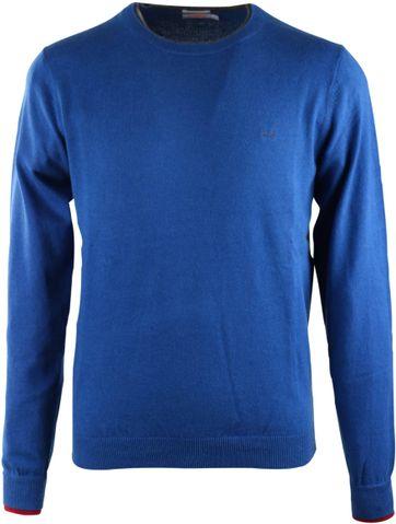 Sun68 Pullover Ronde Hals Blauw
