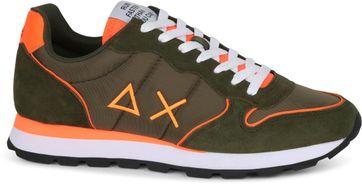 Sun68 Sneaker Tom Donkergroen