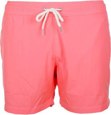 Sunstripes Badeshorts Uni Rosa