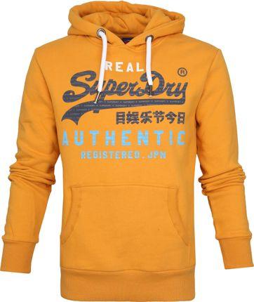 Superdry Authentic Tri Hoodie Geel