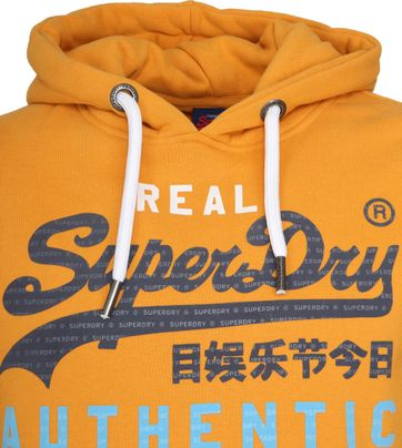 Superdry Authentic Tri Hoodie Gelb