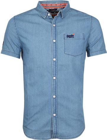 Superdry Blauw Overhemd