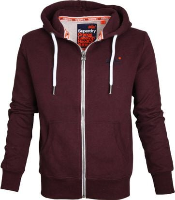 Superdry Cardigan Bordeaux