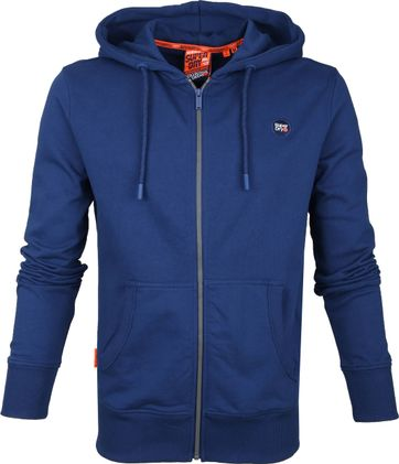 Superdry Cardigan Collective Blau