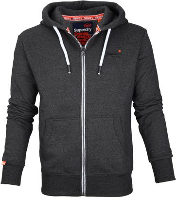 Superdry Cardigan Dark Grey
