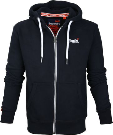Superdry Cardigan Eclipse Navy