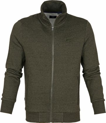 Superdry Cardigan Track Dark Green