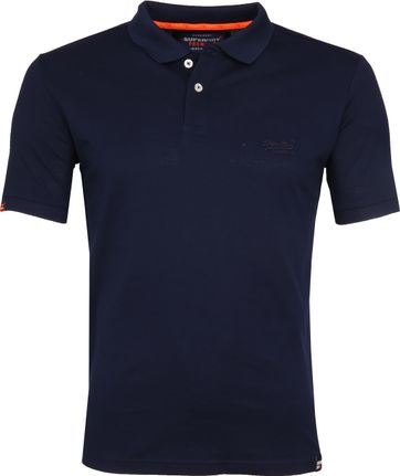 Superdry Classic Lite Polo Navy