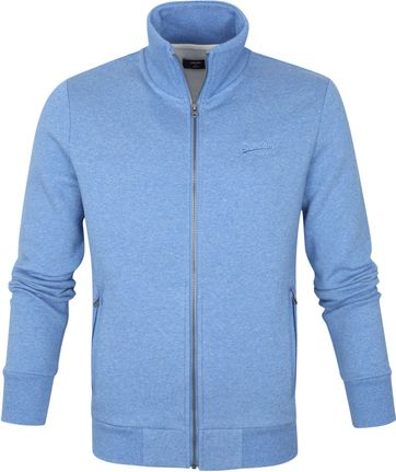 Superdry Classic Zip Sweater Blau