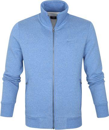 Superdry Classic Zip Sweater Blue