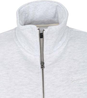 Superdry Classic Zip Sweater Grau